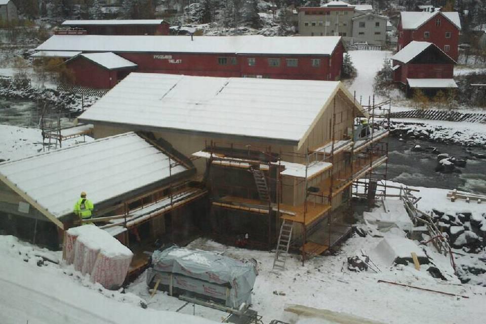 Kvitvella Electrisitetskraftverk, Fagernes